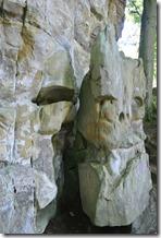 Teufelsschlucht Ernzen / Irrel - Felsformationen auf dem Weg