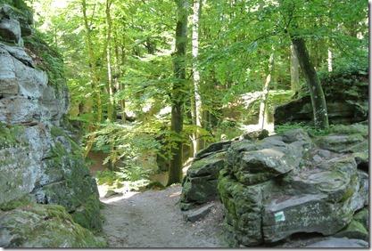 Teufelsschlucht Ernzen / Irrel - Pfade zwischen Felsen