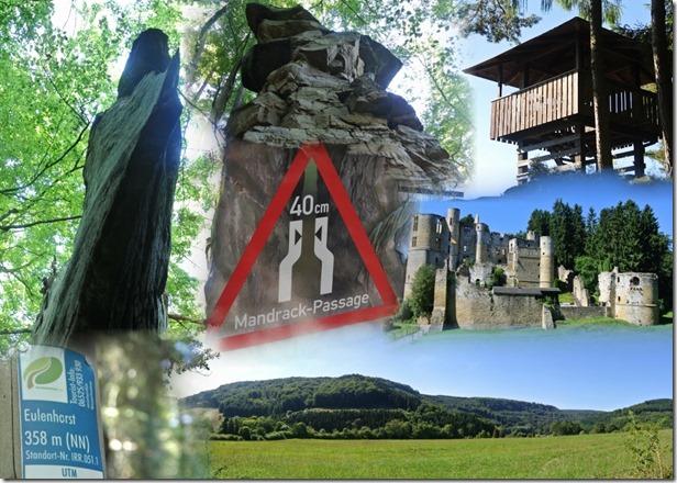 NaturWanderPark delux: Felsenweg 2 - Collage