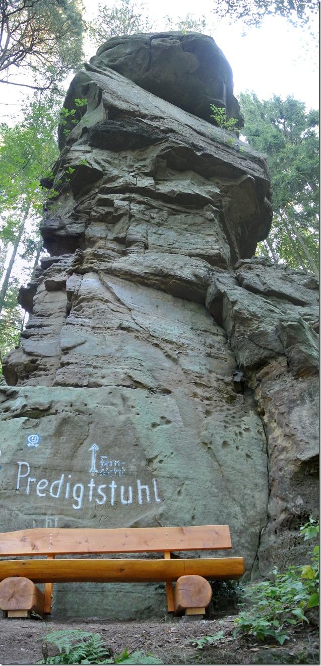 NaturWanderPark delux: Felsenweg 2 - Predigtstuhl