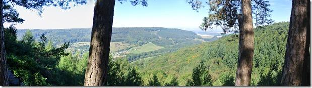 NaturWanderPark delux: Felsenweg 2 - Aussicht vom Predigtstuhl