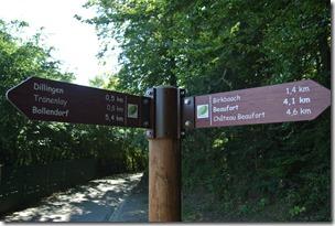 NaturWanderPark delux: Felsenweg 2 - Wegweiser