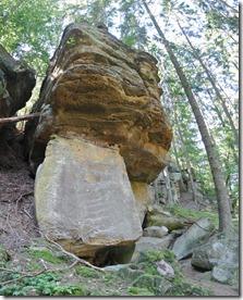 NaturWanderPark delux: Felsenweg 2 - Sandsteinformation 1