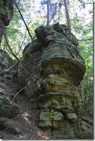 NaturWanderPark delux: Felsenweg 2 - Sandsteinformation 2