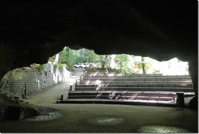 Amphitheater - Blick von der Bühne