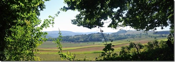 Rundwanderweg R8 - Blick in die Landschaft
