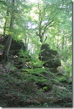 Rundwanderweg R8 - Felsformation auf dem R8