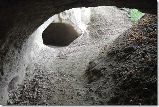 Traumpfad Höhlen-Schluchtensteig - Blick in eine Seitenhöhle