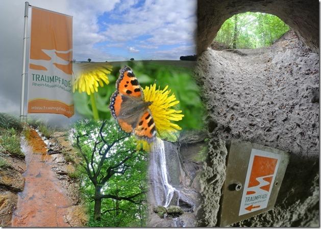 Traumpfad Höhlen-Schluchtensteig - Collage