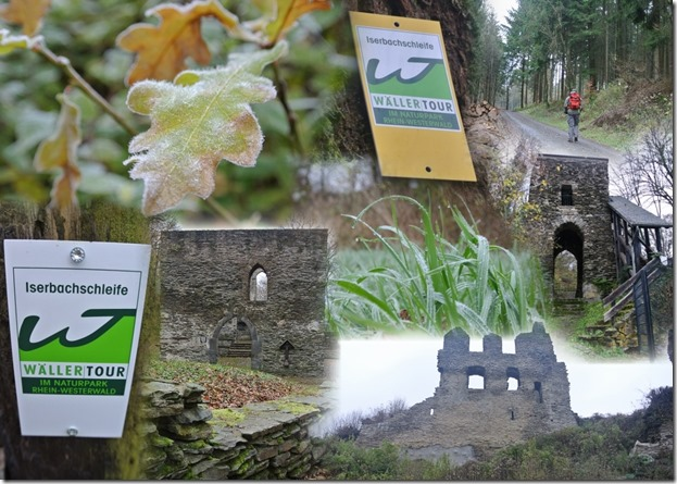 Wäller Tour Iserbachschleife - Collage