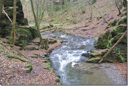 Traumschleife Rabenlay - Engstelle des Baybachs