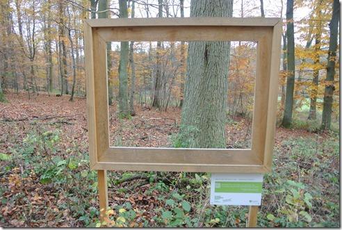 Traumschleife Rabenlay - Bilderrahmen im Wald