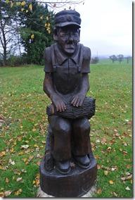 Traumschleife Rabenlay - Holzfigur