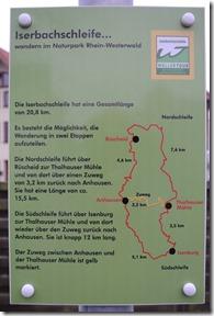 Wäller Tour Iserbachschleife - Karte