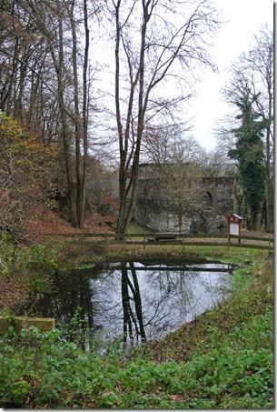 Wäller Tour Iserbachschleife - Kirchenruine Hausenborn