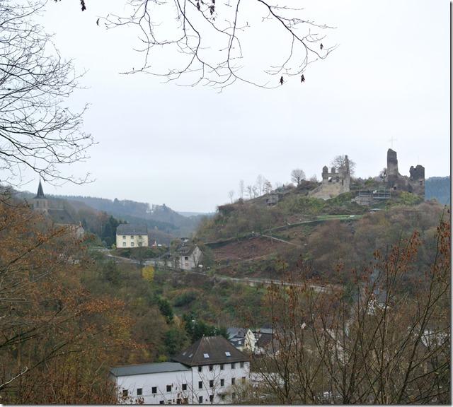 Wäller Tour Iserbachschleife - Iserburg Gesamtansicht