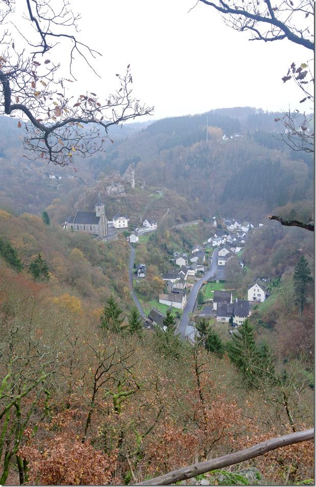 Wäller Tour Iserbachschleife - Iserbachtalblick