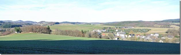 Traumpfad Booser Doppelmaar - Panoramablick