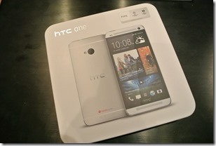 HTC One - Unboxing 1
