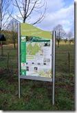Wäller Tour Eisenbachtal - Infotafel des Weges