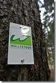 Wäller Tour Eisenbachtal - Wegezeichen