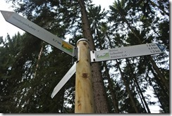 Wäller Tour Eisenbachtal - Wegweiser