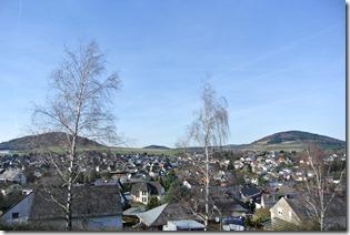 Traumpfad Vulkanpfad - Blick auf Ettringen