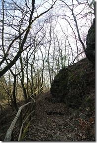 Traumpfad Vulkanpfad - Weg nach oben