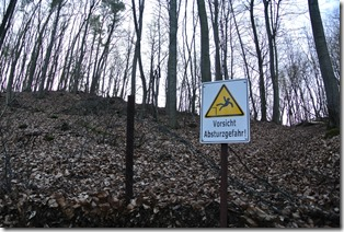 Traumpfad Vulkanpfad - Hinweisschild
