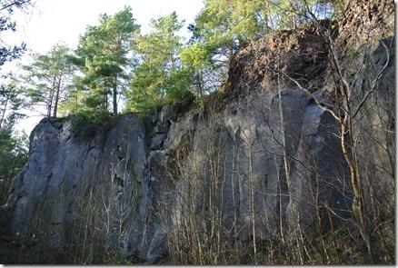 Traumpfad Vulkanpfad - Felswand
