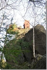 Traumpfad Vulkanpfad - alter Kran