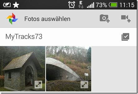 Meine Tracks - Screenshot 17