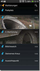 Meine Tracks - Screenshot 16
