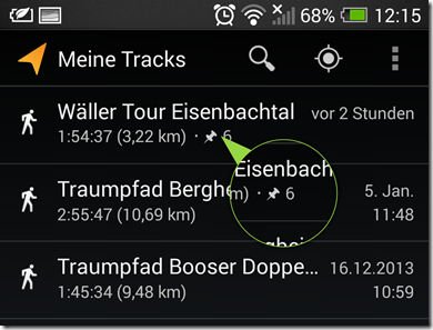 Meine Tracks - Screenshot 24