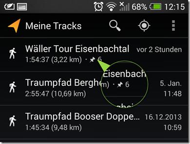 Meine Tracks - Screenshot 24