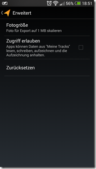 Meine Tracks - Screenshot 6