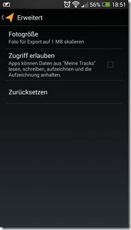 Meine Tracks - Screenshot 6