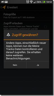 Meine Tracks - Screenshot 8