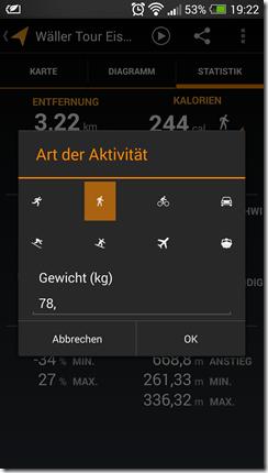 Meine Tracks - Screenshot 18