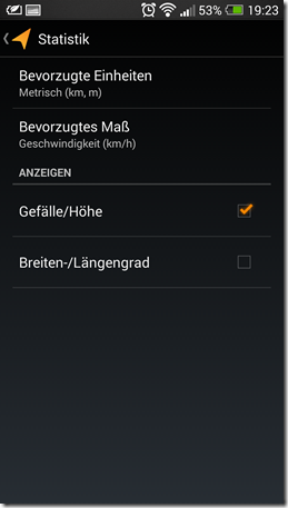 Meine Tracks - Screenshot 9