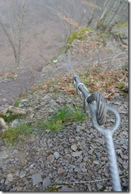 Moselsteig Etappe 18 - Seilsicherung