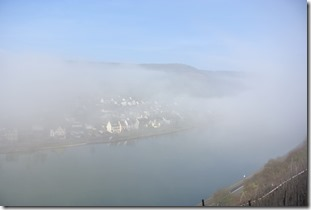 Moselsteig Etappe 18 - Mosel im Nebel