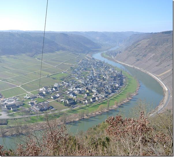 Moselsteig Etappe 18 - Talblick vom Eisernen Mast
