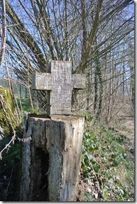 Moselsteig Etappe 18 - Kreuz am Wegesrand