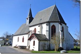 Moselsteig Etappe 18 - Kirche in Valwigerberg