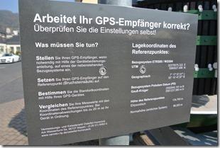 Moselsteig Etappe 19.1 - GPS Hinweistafel