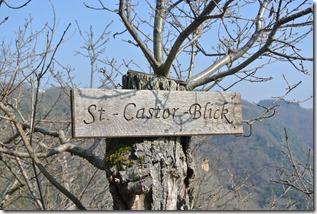 Moselsteig Etappe 19.1 - Hinweis St.-Castor-Blick