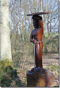 Moselsteig Etappe 19.1 - Skulptur am Opferplatz