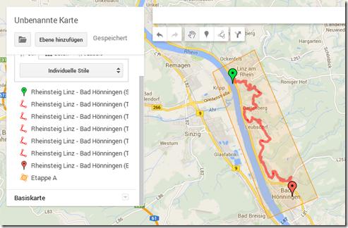 GPS Tracks zusammenführen - Fertig