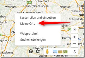 GPS Tracks zusammenführen - Meine Orte